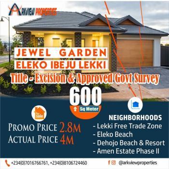a Resort Style Lifestyle with Water Views, Along Lekki Coastal Road That Links Ibeju Lekki to Victoria Island, Eleko, Ibeju Lekki, Lagos, Mixed-use Land for Sale