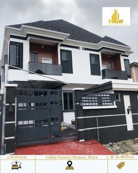 4 Bedroom Semi Detached Duplex with 1 Bq, Chevron, Lekki, Lagos, Semi-detached Duplex for Sale