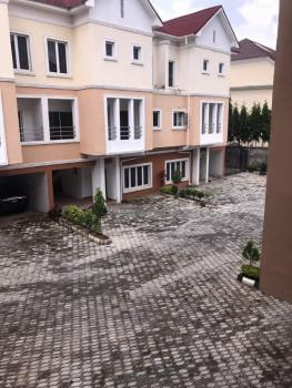 Tastefully Finished 4bedroom Terraced House with a Room Bq, Katampe Extension, Katampe, Abuja, Terraced Duplex for Sale