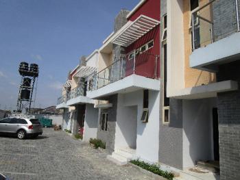 Luxury 3 Bedroom Terraced Duplex with Excellent Facillities with Bq, Ilasan, Lekki, Lagos, Terraced Duplex for Sale