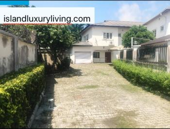 Luxuriously Finished and Well Built Five(5) Bed Detached Back Plot Duplex with Garden and Car Park for Six(6) Cars, Old Ikoyi, Ikoyi, Lagos, Detached Duplex for Rent