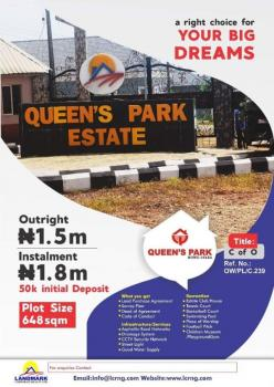 Estate with C of O, Mowe, Ibafo, Ogun, Residential Land for Sale