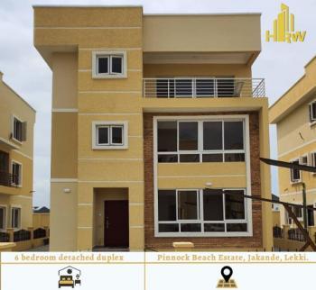 6 Bedroom Fully Detached Duplex, Western Foreshore Estate, Beside Pinnock Beach Estate, Jakande, Lekki, Lagos, Detached Duplex for Sale