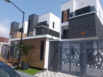 Executive 2 Units of Luxurious 5 Bedroom Detached House with Cinema Room, Gym, Swimming Pool, Cctv, Central Sound System Etc, Lekki Phase 1, Lekki, Lagos, Detached Duplex for Sale