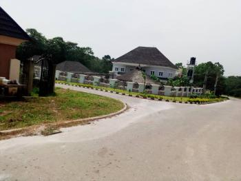 Fantastic 1900qm, C of O, Tarred Road, Fenced, Gated with Security House, Guzape District, Abuja, Residential Land for Sale