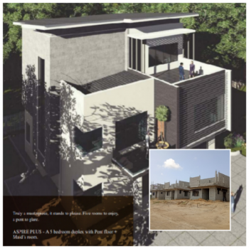 5 Bedroom Duplex + Penthouse in Resort Based Estate with Golf Course, Royal Palm Villa, Lekki - Epe Express Way, Ibeju Lekki, Lagos, Detached Duplex for Sale