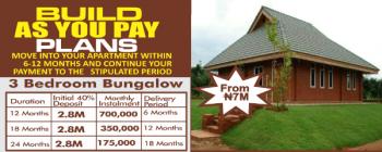 3 Bedroom Bungalow, Favour Gardens Estate Along Agbara-atan Road (ijuri Bus-stop), Agbara, Ado-odo/ota, Ogun, Detached Bungalow for Sale
