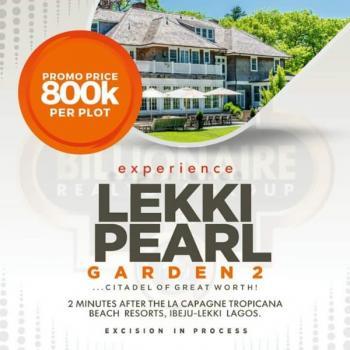 Affordable Estate Land, 2 Minutes After La Campagne Tropicana Beach Resort, Ibeju Lekki, Lagos, Residential Land for Sale