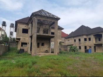 5bedroom Duplex Carcass with a Space for Bq, Inside Sahara Estate, Gwarinpa, Abuja, Detached Duplex for Sale