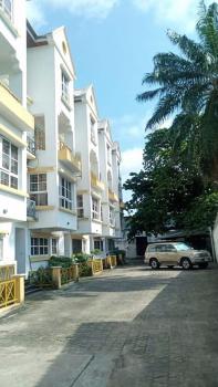 Serviced 4 Bedroom Terraced House, Off Ahmadu Bello Way, Victoria Island (vi), Lagos, Terraced Duplex for Rent