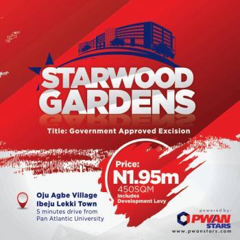Estate Land, 5 Minutes From Pan Atlantic University and Near International Airport, Ibeju Lekki, Lagos, Residential Land for Sale