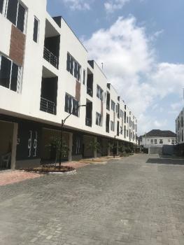 Serviced 3 Bedroom Terrace Duplex with Bq, Osapa London, Osapa, Lekki, Lagos, Terraced Duplex for Rent