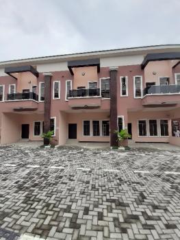 New Serviced 4 Bedroom Terraced Duplex, Chevron Alternative Route, Lekki Phase 2, Lekki, Lagos, Terraced Duplex for Sale