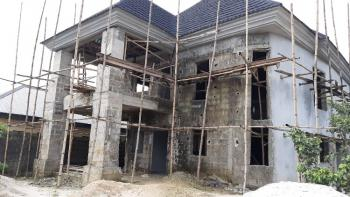 Well Located and Fenced Carcass 5 Bedroom Duplex., Off East West Road, Rumuosi, Port Harcourt, Rivers, Detached Duplex for Sale
