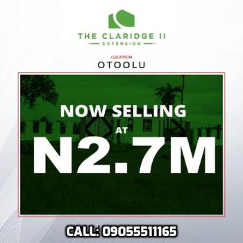 The Claridge 2 Extension, Otoolu, Ibeju Lekki Lagos. 10 Minutes Drive From The Lekki Free Trade Zone., Ibeju Lekki, Lagos, Residential Land for Sale