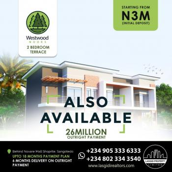 2 Bedroom Terrace Duplex, Off Monastery Road, Sangotedo, Ajah, Lagos, Terraced Duplex for Sale
