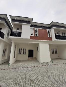 Newly Built 4 Bedroom Terrace Duplex Serviced with 24 Hours Light, Chevron Alternative Route, Lekki Phase 2, Lekki, Lagos, Terraced Duplex for Sale