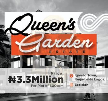 Queens Garden, 10 Mins Drive From Dangote Refinery, Alatise, Ibeju Lekki, Lagos, Mixed-use Land for Sale