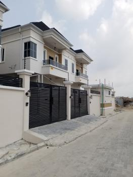 New and Well Finished 4bedroom Duplex with a Room Bq, Chevron Drive, Chevy View Estate, Lekki, Lagos, Semi-detached Duplex for Sale