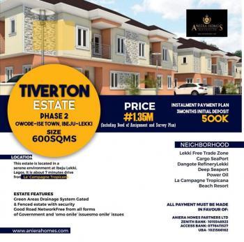 Tiverton Estate Phase 2 Land, Ibeju Lekki, Lagos, Residential Land for Sale