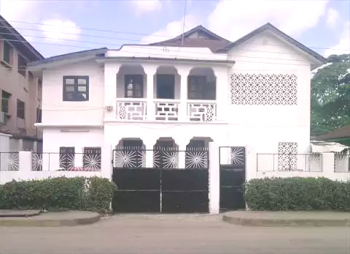 Ground Floor of a Commercial House, Moore Road, Saint Agnes, Yaba, Lagos, Office Space for Rent