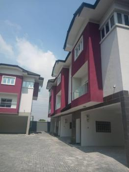 3 Bedroom Terrace with Bq Newly Built, Lekki Phase 1, Lekki, Lagos, Terraced Duplex for Rent