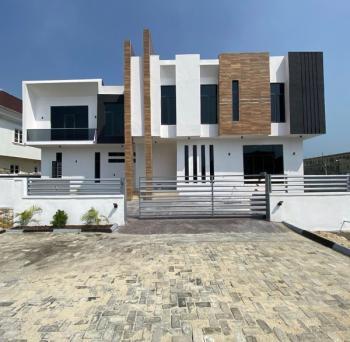 Newly Built 5 Bedroom Fully Detached Duplex  Secured, Serviced Estate, Lakeview Estate Orchild Road Chevron Tollgate, Lafiaji, Lekki, Lagos, Detached Duplex for Sale