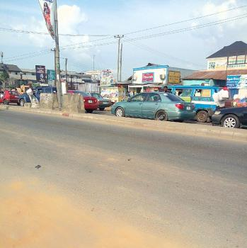 Fenced 10 Plots of Land on The Major Road in a Prime Location, Rukpokwu, Port Harcourt, Rivers, Commercial Land for Sale