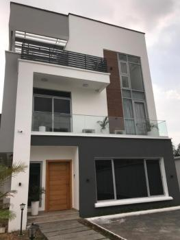 Newly Built 4 Bedroom Luxury Detached House with 2 Rooms Bq, Ikeja, Lagos, Detached Duplex for Sale