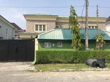 4 Bedroom Detached House  with 2 Room Detached Bq, Agungi, Lekki, Lagos, Detached Duplex for Rent