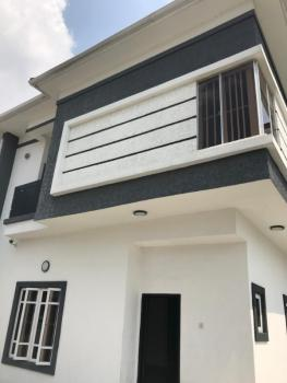 Newly Built 4 Bedroom Semi Detached with 1 Room Bq, By 4th Roundabout, Lekki, Lagos, Semi-detached Duplex for Rent