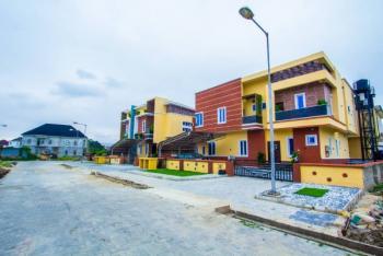 4 Bedroom Semi-detached Smart Home Duplex with Bq, Buena Vista Estate, Off Orchid Road., Lafiaji, Lekki, Lagos, Semi-detached Duplex for Sale