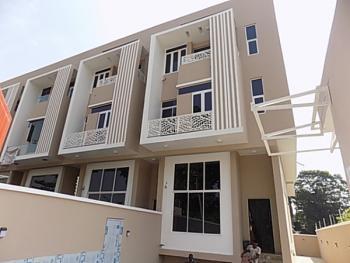 4 Bedroom Terraced Duplex with Bq, Self Compound, Osborne Close, Osborne, Ikoyi, Lagos, Terraced Duplex for Rent