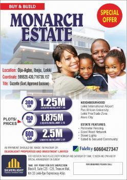 Luxury Plot of Land, Oju Agbe, Eleko, Ibeju Lekki, Lagos, Mixed-use Land for Sale