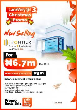 Estate Land, Behind Beehwood Estate 30minutes Away From Chevron, Bogije, Ibeju Lekki, Lagos, Residential Land for Sale