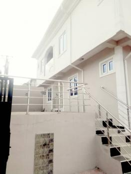 Brand New & Executive 4 Nos of 2 Bedroom Flat with Pop Finishing, American Fence Wire, Cctv Camera , Interlocking Compound, Off College Road, Ogba, Ikeja, Lagos, Flat for Rent