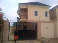 4 Bedroom Semi Detached Duplex(all Ensuite) With Jacuzzi, Ante Room, Fitted Kitchen, Family Lounge And Bq At Magodo Isheri, Gra, Magodo, Lagos, 4 Bedroom, 5 Toilets, 4 Baths House For Sale