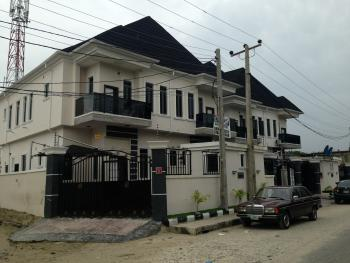 Newly Built and Well Finished 4bedroom Duplex with a Room Bq, Chevron Conservation Road, Lekki Expressway, Lekki, Lagos, Semi-detached Duplex for Sale