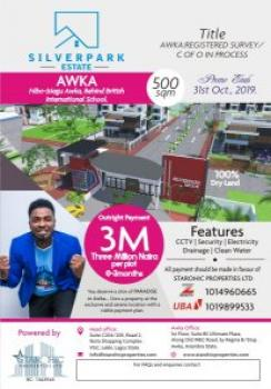 Estate Land, Opposite The Government House  Behind British International School,, Awka, Anambra, Residential Land for Sale