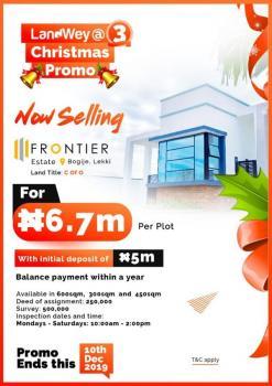 Estate Land with C of O on Promo, Inside Beechwood Estate Close to The Expressway, Bogije, Ibeju Lekki, Lagos, Residential Land for Sale