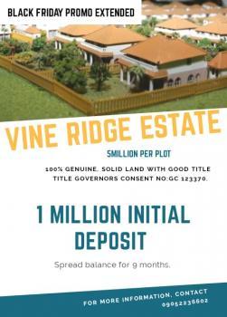 Vine Ridge Estate Plots, Abijo Gra, Ajah, Lagos, Land for Sale