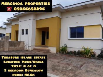 2 Bedroom Bungalow, Interchange From Nestle Foods, Treasure Island Housing Estate, Mowe Ofada, Ogun, Semi-detached Bungalow for Sale