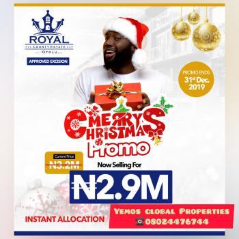 Residential Land-xmas Discount Promo, Ogogoro, Ibeju Lekki, Lagos, Residential Land for Sale
