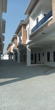 Newly Built Serviced 4 Bedroom Terraced Duplex, Orchid Road, Lafiaji, Lekki, Lagos, Terraced Duplex for Rent