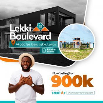 Estate Land, Lekki Boulevard Estate, 5 Minutes Drive From La Campagned Tropicana Beach Resort, Akodo Ise, Ibeju Lekki, Lagos, Residential Land for Sale