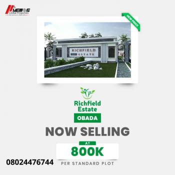 Richfield Estate, Behind Federal Housing Extension, Abeokuta South, Ogun, Residential Land for Sale