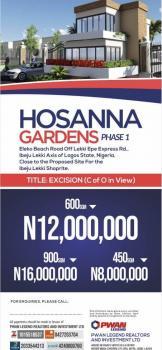 Estate Land, Eleko Beach Road Near Proposed Ibeju-lekki Shoprite, Eleko, Ibeju Lekki, Lagos, Residential Land for Sale