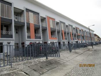 Tastefully Finished 4 Bedroom Terrace Duplex with a Room Bq and Excellent Facilities, Lekki Phase 1, Lekki, Lagos, Detached Duplex for Rent