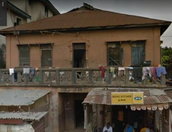 Storey Building on 682 Sqm of Land, Oniwaya Road, Dopemu, Agege, Lagos, Block of Flats for Sale