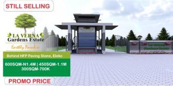 Estate Land, Behind Hfp Paving Stones Stones 3 Minutes From Pan Atlantic University, Eleko, Ibeju Lekki, Lagos, Residential Land for Sale